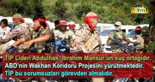 TİP Lideri Abdulhak, İbrahim Mansur'un suç ortağıdır. ABD'nin Wakhan Koridoru Projesini yürütmektedir. TİP Abdulhak'ı görevden almalıdır. VİDEO HABER