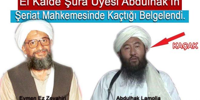 El Kaide Şura Üyesini Şeriat Mahkemesinden mi kaçırıyor ?