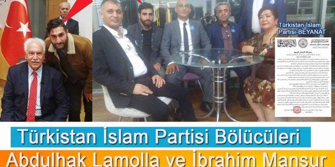 TİP Bölücüleri Abdulhak Lamolla ve İbrahim Mansur'un Çin İstihbarat bağlantısı.