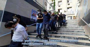 Türkistan İslam Partisi'nin Hırsızlık ve Gasp Çetesine Operasyon