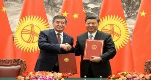 Kırgızistan Çin'e en çok borçlu 5. ülke. Kazakistan Borcuna karşılık iki beldesini Çin'e verdi.